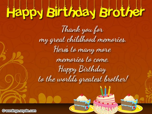 happy birthday to the best brother in the world poem ; birthday-wishes-for-cards-message-unique-brother-birthday-wishes-best-50-birthday-messages-for-your-brother-of-birthday-wishes-for-cards-message