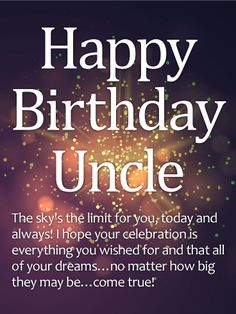 happy birthday to the best uncle ; 26d23c407ee4d29d2bec914809d6f60b