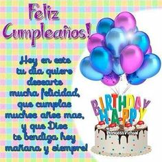 happy birthday to you in spanish ; 162ffcfd66e889c6b8feb739463b1f59--happy-birthday-birthday-wishes