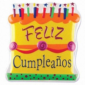 happy birthday to you in spanish ; s-l300