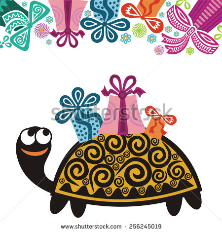 happy birthday turtle images ; stock-vector-happy-birthday-greeting-card-turtle-with-gifts-vector-illustration-256245019