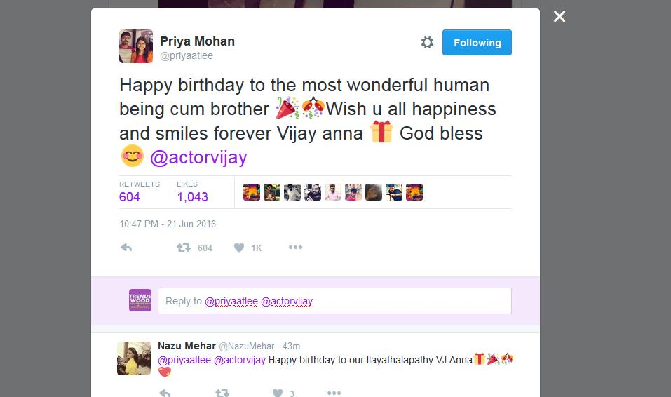 happy birthday tweets ; 2016-06-22-12_06_43-Priya-Mohan-on-Twitter_-_Happy-birthday-to-the-most-wonderful-human-being-cum-br