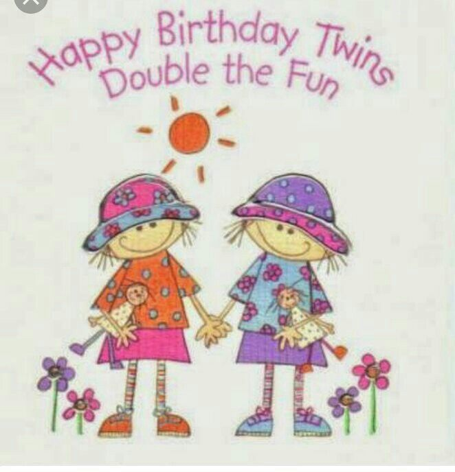 happy birthday twin sister card ; 0a48c6551e5e7955561a3651cca519b6