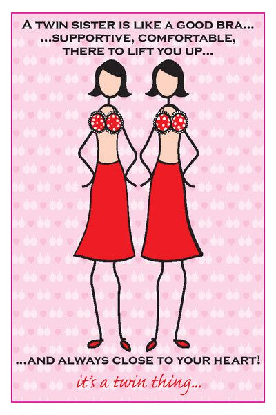 happy birthday twin sister card ; 6dd42ef268cf61644b543920b86a910a