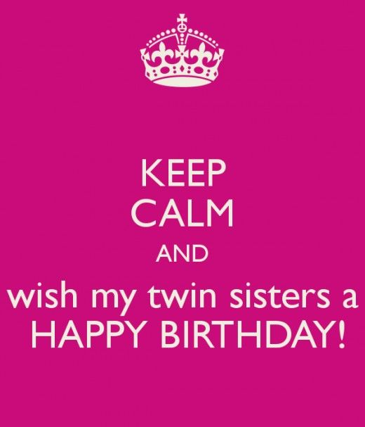 happy birthday twin sister card ; 9da3b06ab4049cbd24e98a1dab529cd6