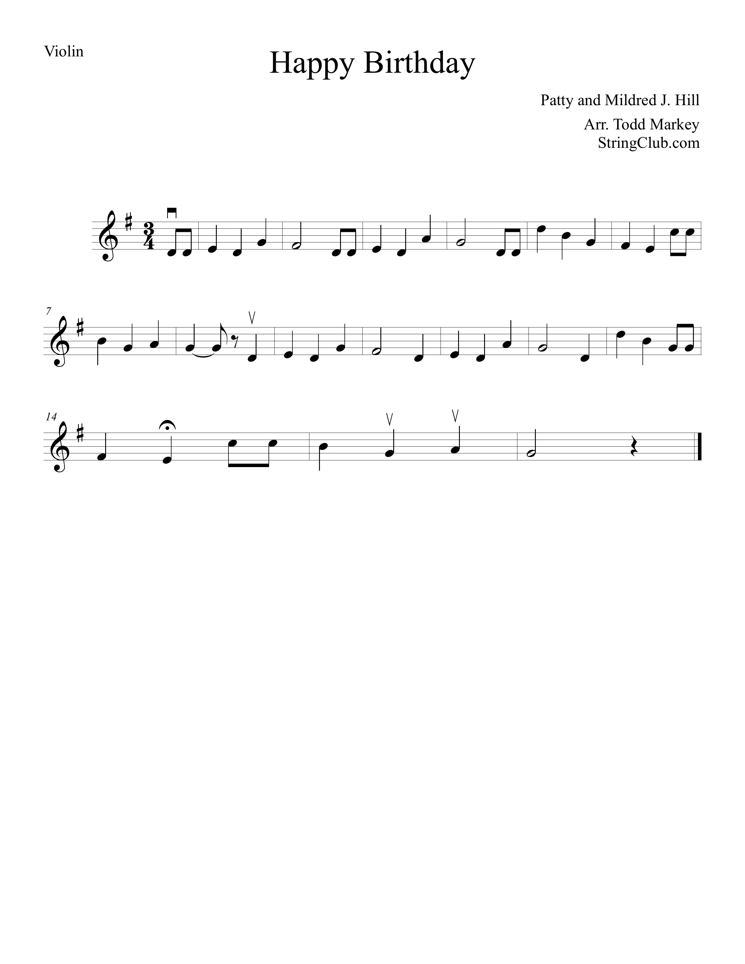 happy birthday violin notes with letters ; Happy-Birthday-Violin