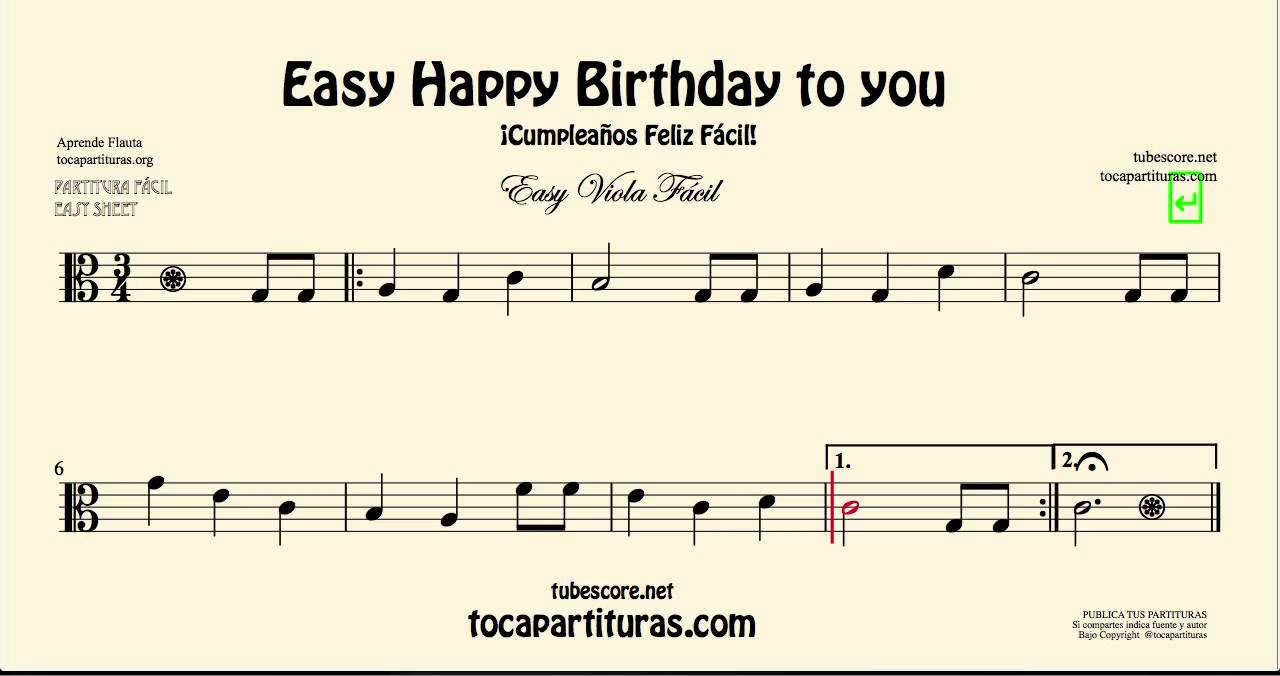 happy birthday violin notes with letters ; maxresdefault-1