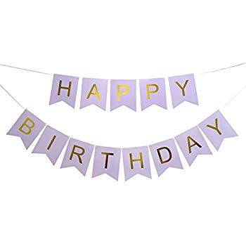 happy birthday wall banner ; 41XE6UUCtIL