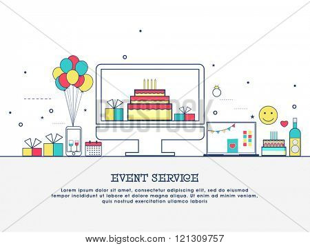 happy birthday website design ; 121309757