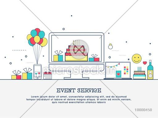 happy birthday website design ; Infographics_10080450_small