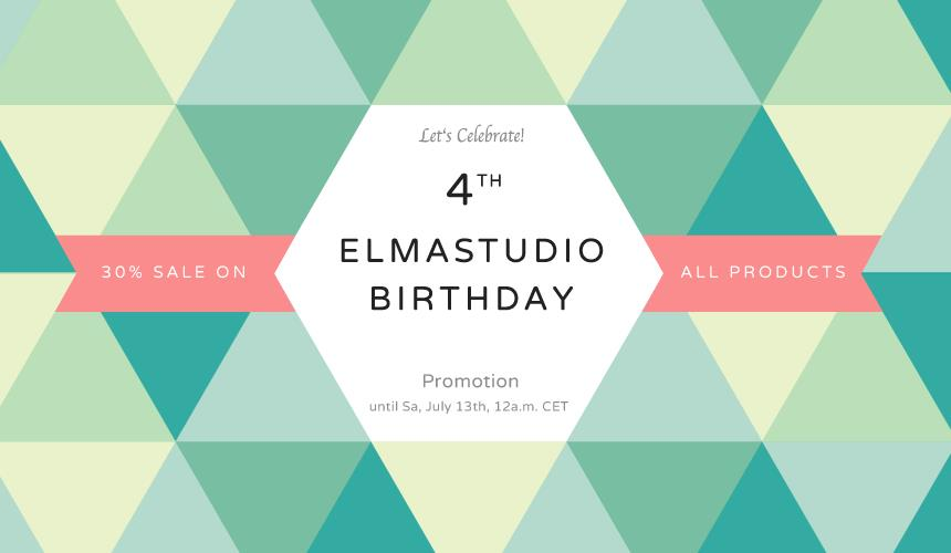 happy birthday website design ; elmastudio-4bday-thumb