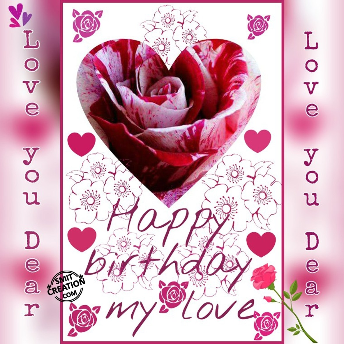 happy birthday wish for lover in hindi ; 2291