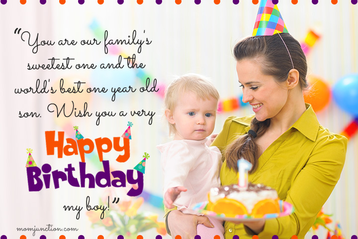happy birthday wish you all the best in the world ; 1st-Birthday-Wishes-For-Son5