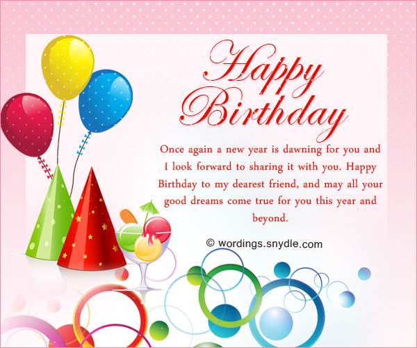 happy birthday wish you all the best in the world ; best-friend-birthday-messages