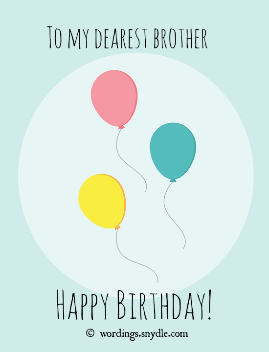 happy birthday wish you all the best in the world ; happy-birthday-wishes-brother-picture