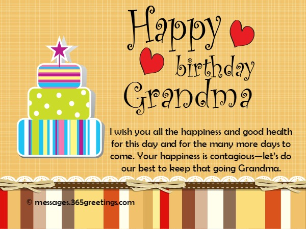 happy birthday wish you many more to come ; happy-birthday-messages-for-grandma