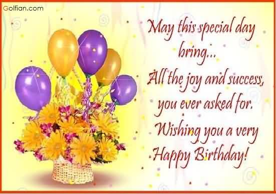 happy birthday wish you many more years ; Lovely-Flower-Birthday-Wishes-For-Boss