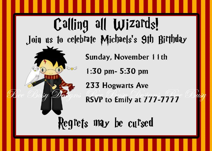 harry potter birthday invitation ideas ; 13-harry-potter-birthday-party-invitations-9