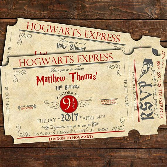 harry potter birthday invitation ideas ; 7206aa7b3b0fd6cdb1f356ab2ecc78ce