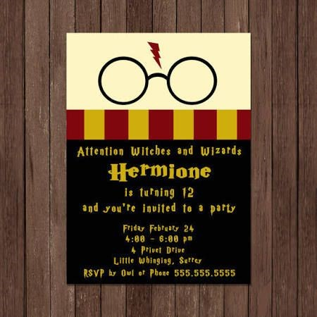 harry potter birthday invitation ideas ; Best-Harry-Potter-Birthday-Invitations-To-Make-Birthday-Party-Invitations