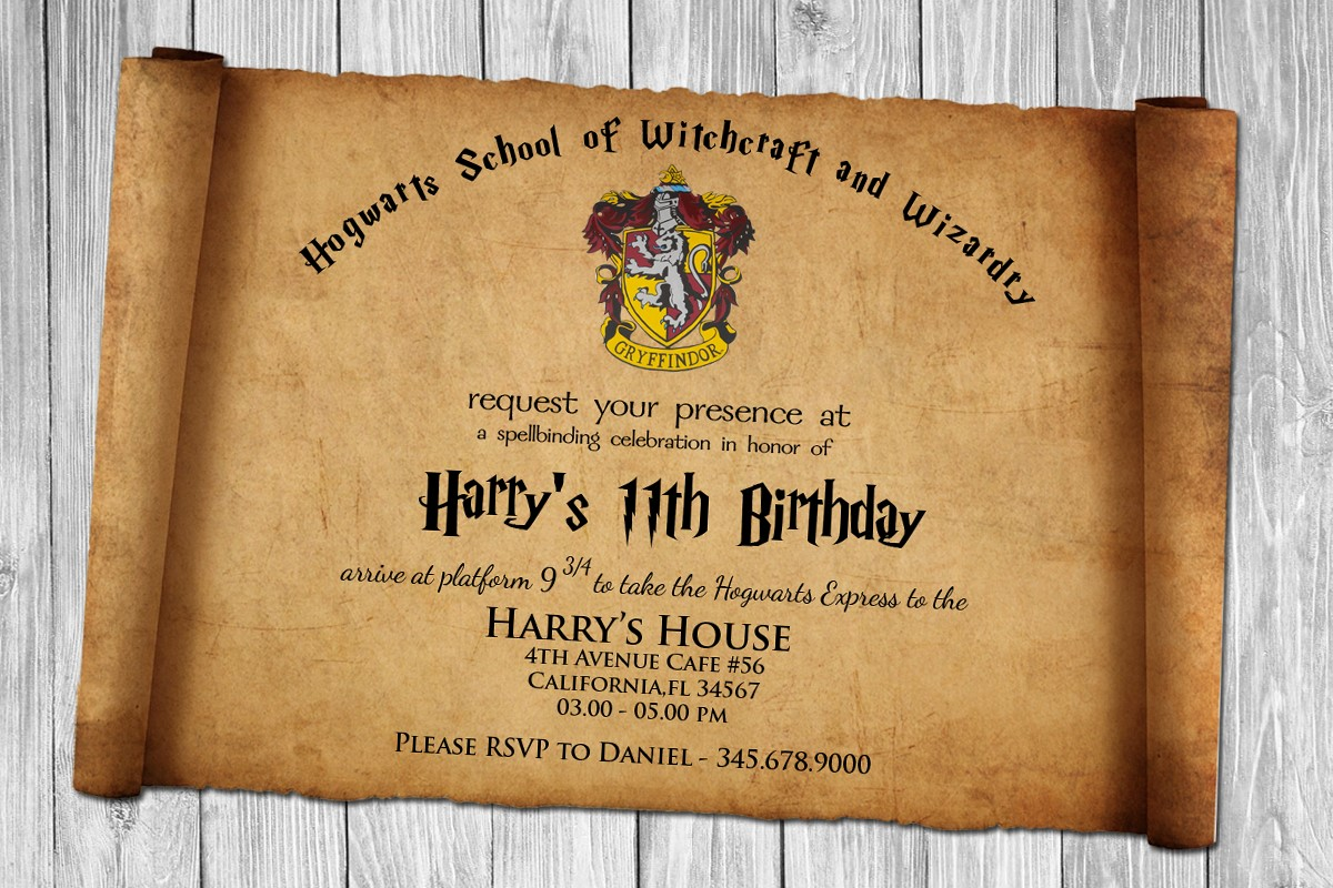 harry potter birthday invitation ideas ; Surprising-Harry-Potter-Birthday-Invitations-As-An-Extra-Ideas-About-Birthday-Invitation-Cards
