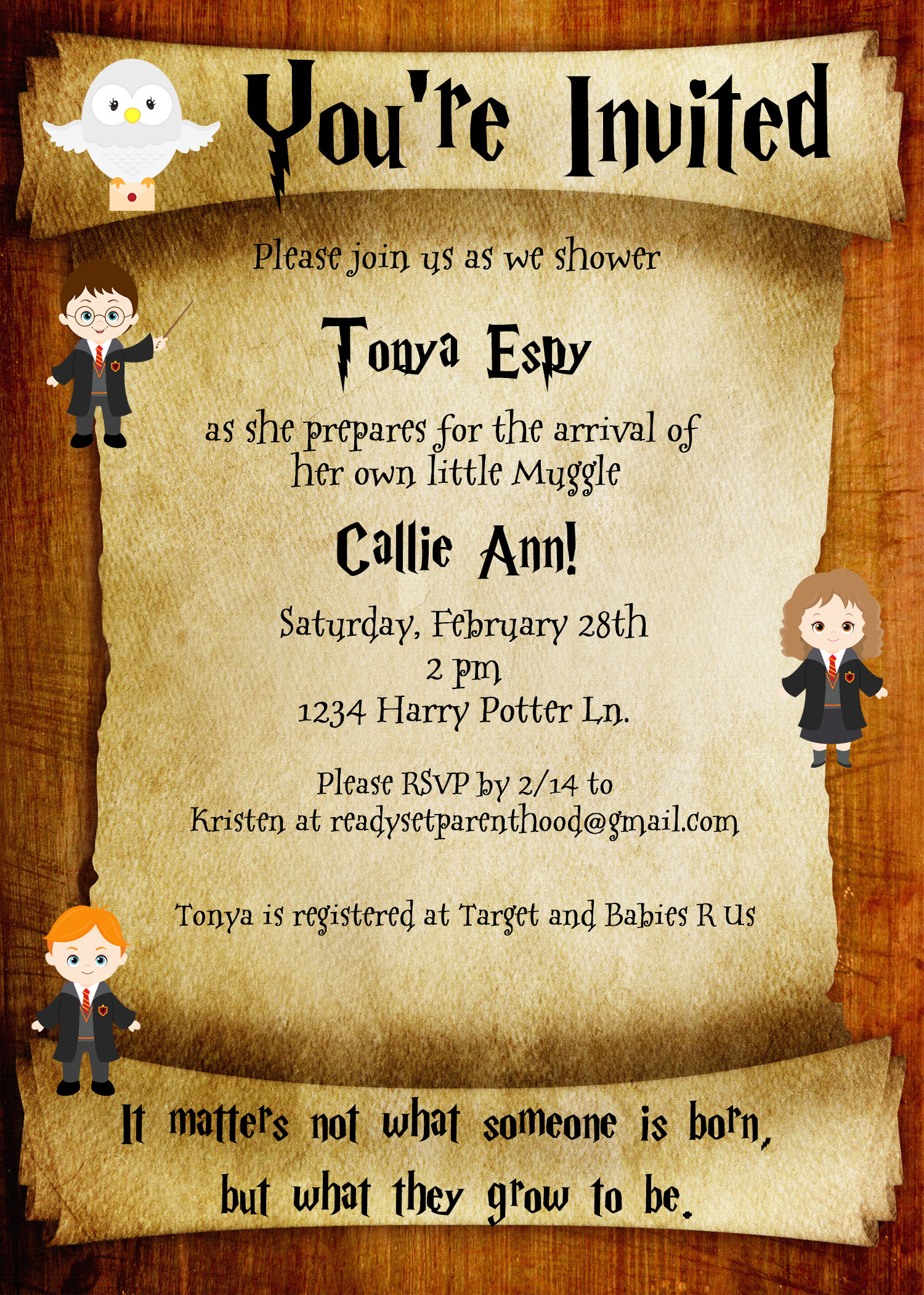harry potter birthday invitation ideas ; harry-potter-party-invitations-for-having-elegant-invitation-template-on-your-Party-Invitation-Template-26