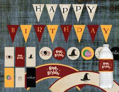 harry potter happy birthday banner ; harry-potter-birthday-banner-new-harry-potter-happy-birthday-sign-banner-bunting-by-printablesbynat-images-of-harry-potter-birthday-banner