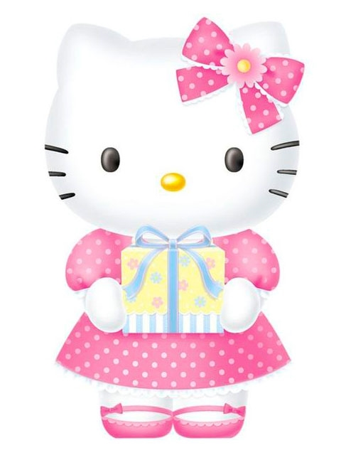 hello kitty birthday card ideas ; DEHK02-21462645404