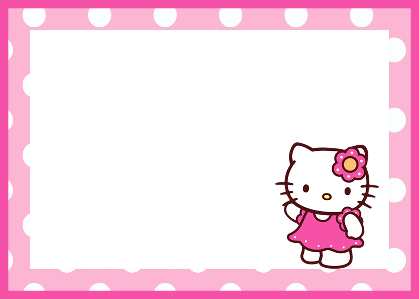 hello kitty birthday invitation maker ; Hello-Kitty-Birthday-Invitation-Template