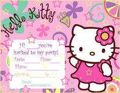 hello kitty birthday invitation template free ; 52f14a51bf41897400aa47c5ecd03e73--printable-party-invitations-printable-cards