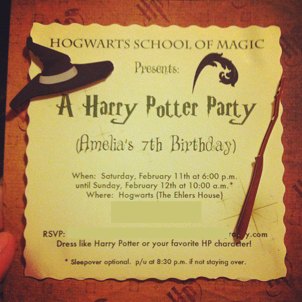 hogwarts letter birthday card ; harry-potter-invitations-template-7seii2ro