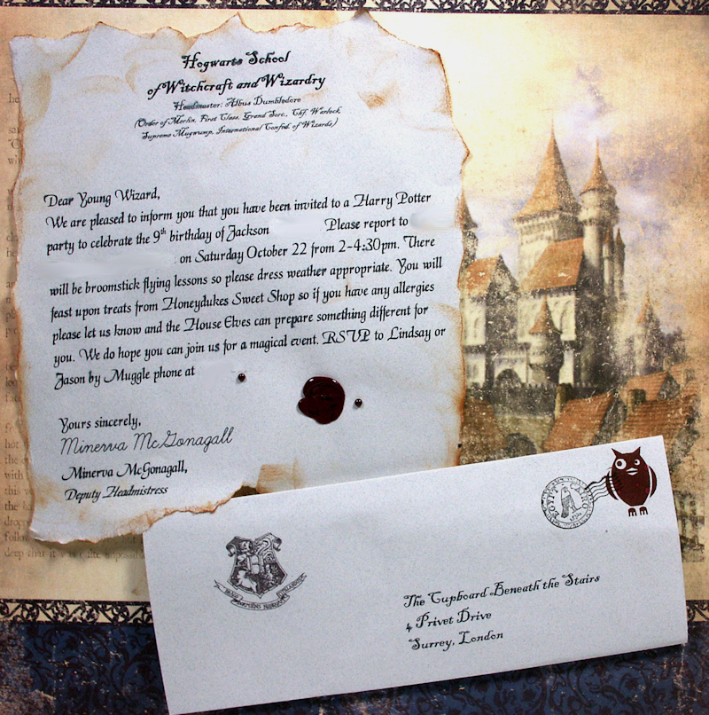 hogwarts letter birthday card ; hp_invite1