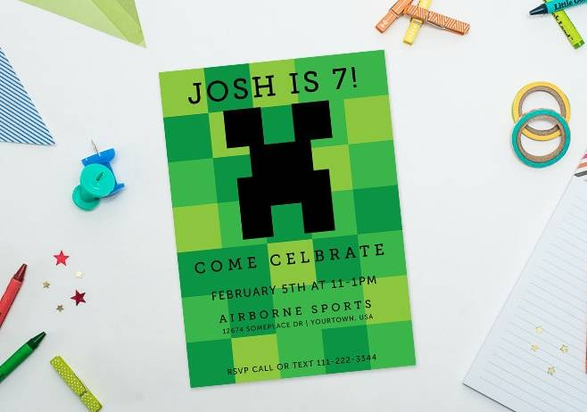 homemade minecraft birthday card ; ef0d0d3a-7cfd-4312-801b-99fb99675dcc_zps83dc07c3