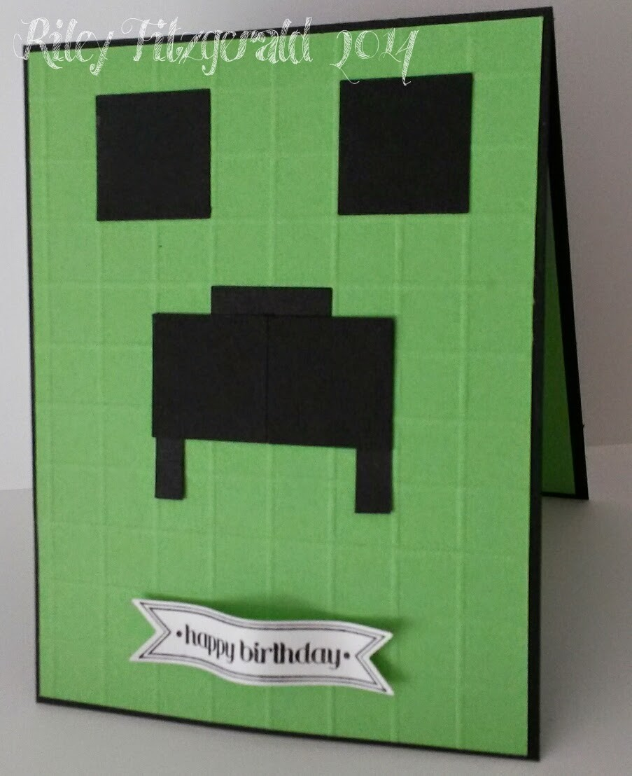 homemade minecraft birthday card ; stampin%2520with%2520riley%2520minecraft%2520birthday-f13444