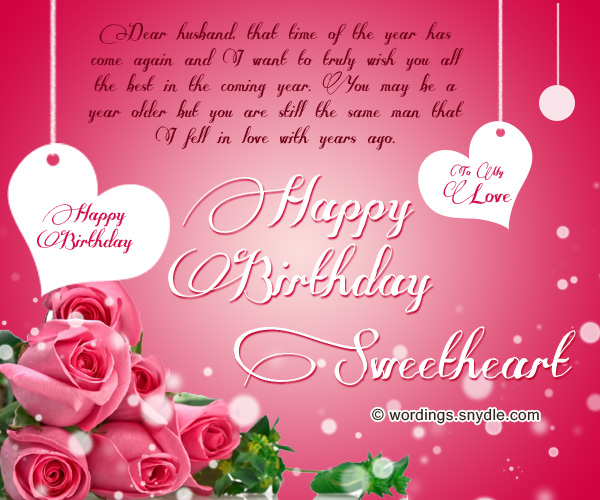 i want to wish you a very happy birthday ; best-birthday-messages-for-husband