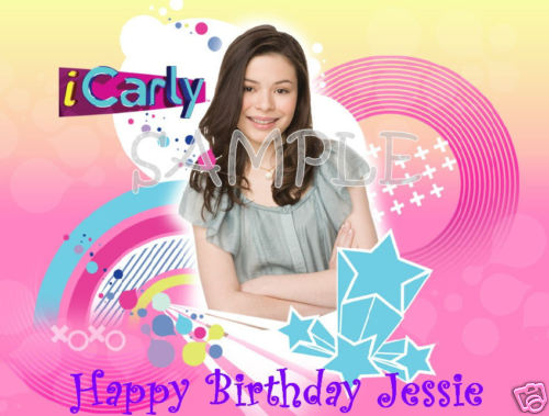 icarly birthday card ; Icarly-Cake-Decorations