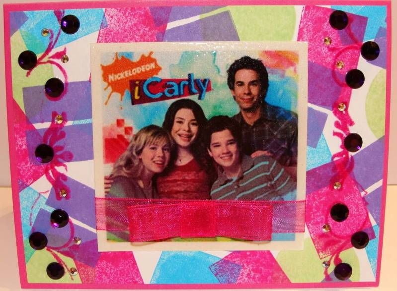 icarly birthday card ; iCarly_by_am94pm