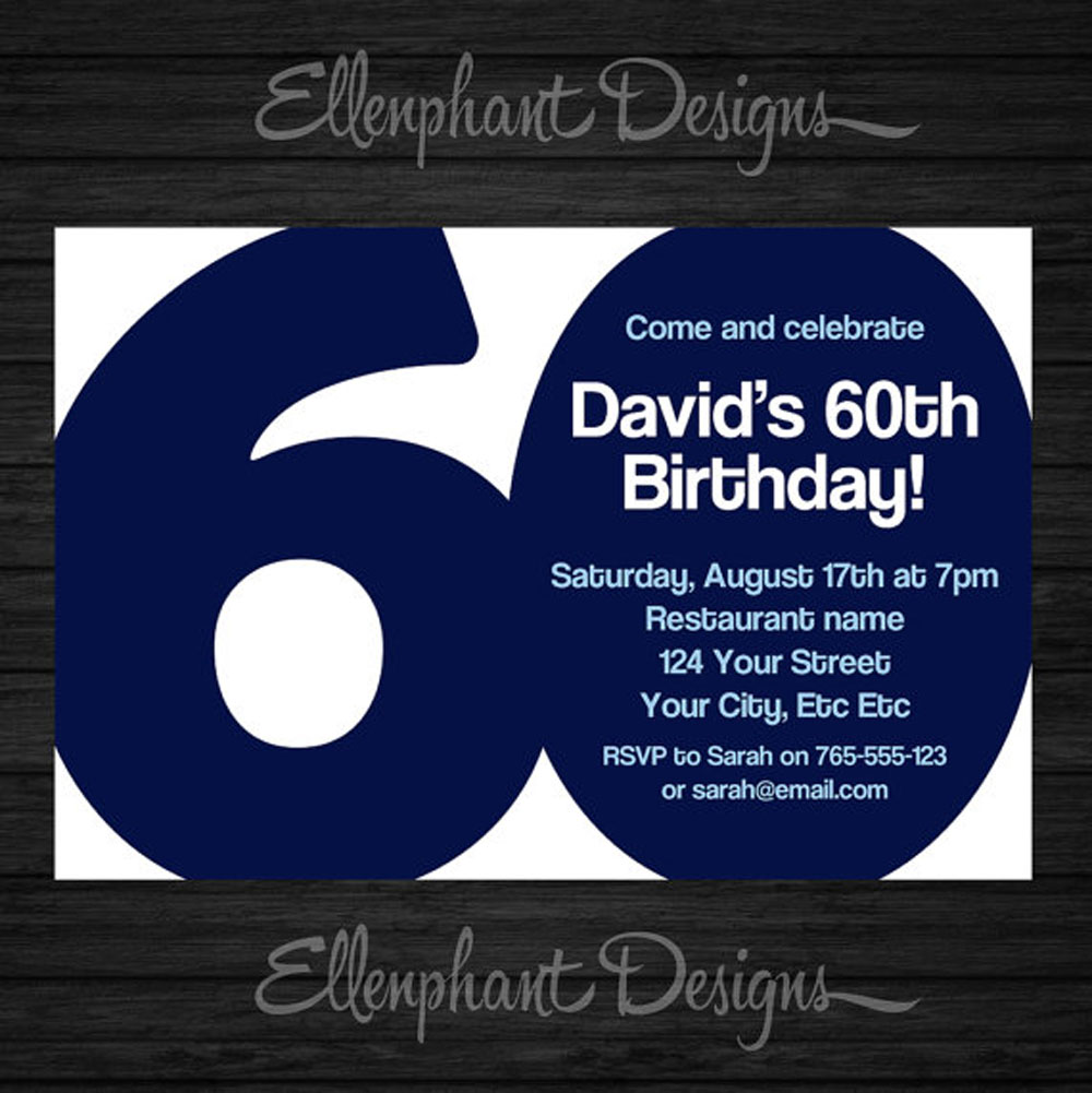 ideas for making a 60th birthday card ; Invitations-for-60th-Birthday-Party-Templates
