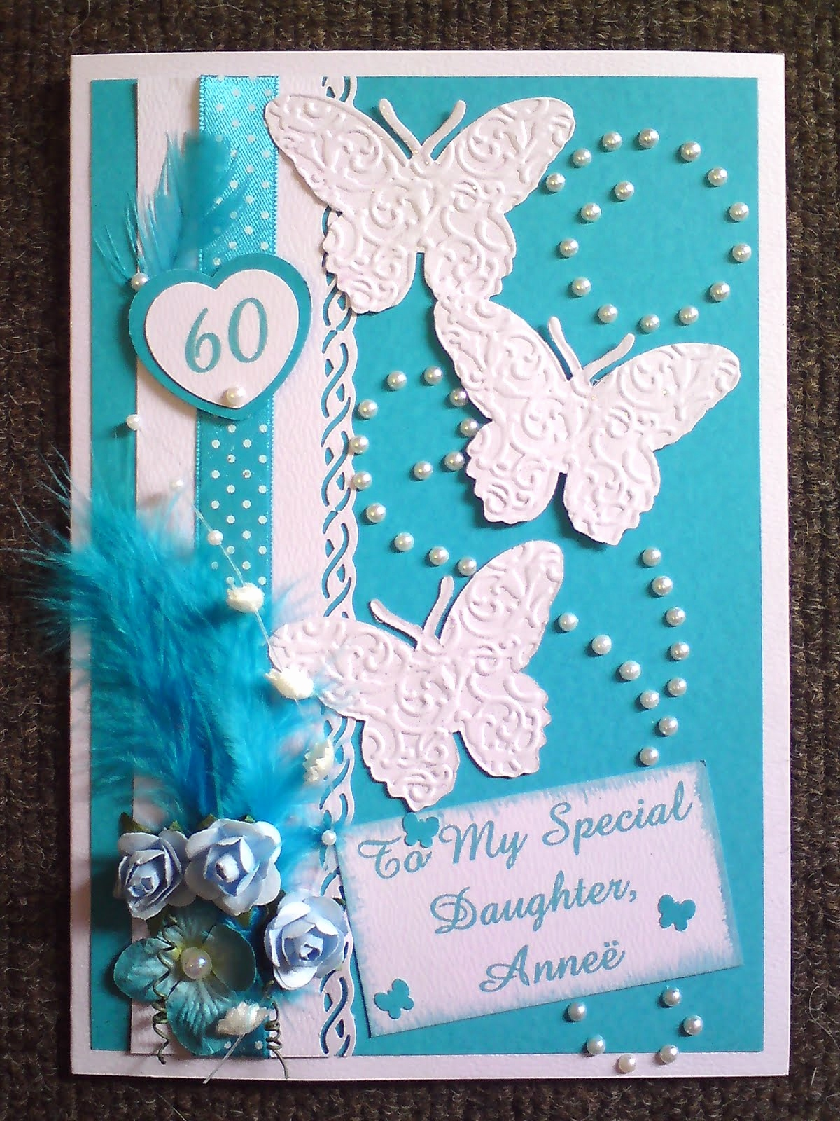 ideas for making a 60th birthday card ; how-to-make-a-birthday-card-awesome-dale-s-crafts-60th-birthday-card-of-how-to-make-a-birthday-card