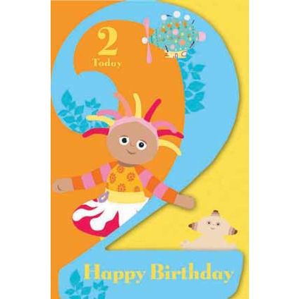 iggle piggle birthday card ; iggle-piggle-birthday-card-in-the-night-garden-age-2-today-birthday-greeting-card-danilo