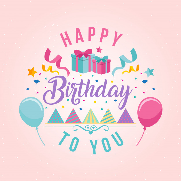 image birthday image ; surprise-theme-happy-birthday-card-illustration_1344-199