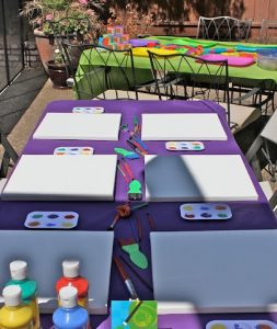 indoor activities for 3 year old birthday party ; Art-Table-Birthday-Party-Ideas-253x300
