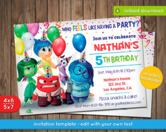 inside out birthday card ; il_340x270