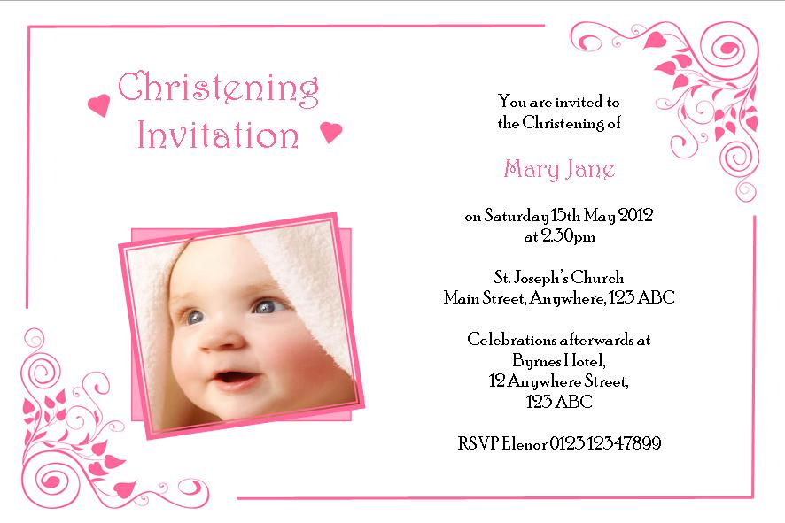 invitation card maker for christening and birthday ; invitation-card-christening-orderecigsjuice-info-christening-invitation-wordings
