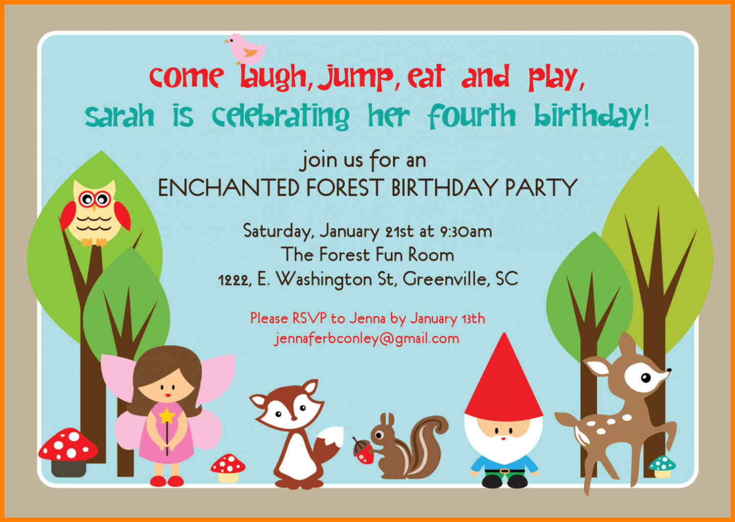 invitation card matter for birthday party ; Example-Party-Popular-Party-Invitation-Examples