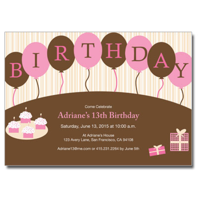 invitation cards for birthday party for teenagers ; girl-birthday-invitationsgirls-birthday-party-invitations-girl