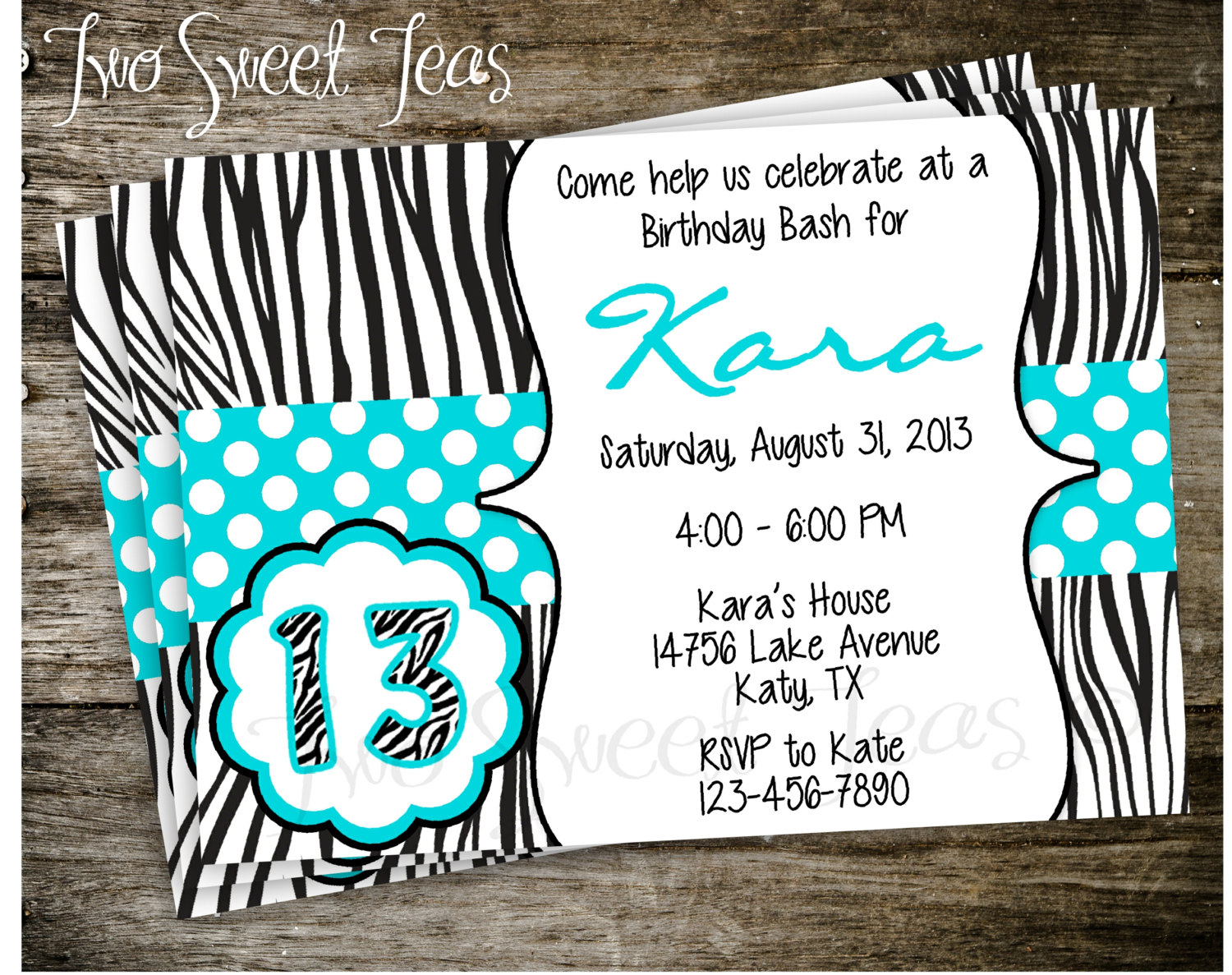 invitation cards for birthday party for teenagers ; teenage_girl_birthday_party_invitations_teenage_birthday_4_0