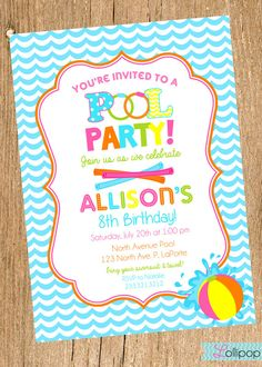 invitation for birthday pool party ; 1d3cfcd0d3e8584d6d0cfb5bf596bd62--pool-party-invitations-printable-birthday-invitations