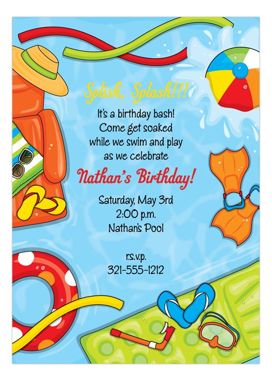 invitation for birthday pool party ; 91df42b08ae7aa7eef850a9f985dc4ff--summer-pool-party-pool-party-birthday