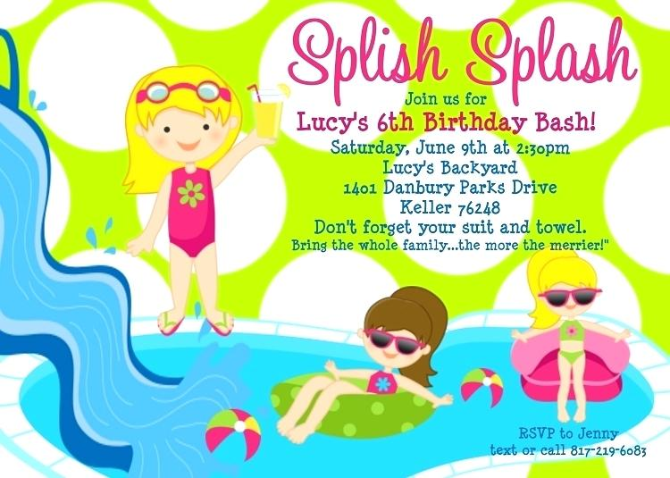 invitation for birthday pool party ; pool-party-birthday-invitations-pool-party-birthday-invitation-printable